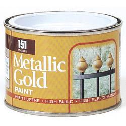 151 Coatings Metallic Paint - 180ml Gold