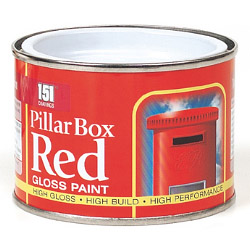 151 Coatings Gloss Paint - 180ml Pillar Box Red