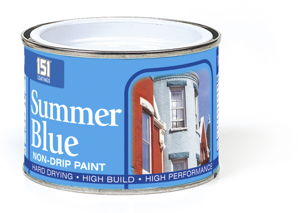 151 Coatings Non Drip Paint - 180ml Summer Blue
