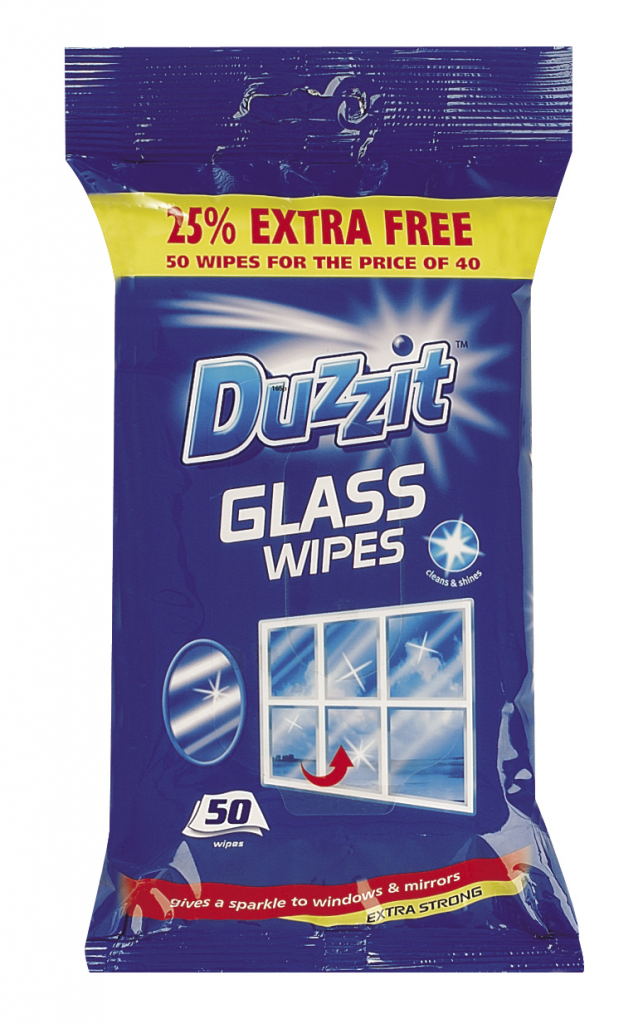 Duzzit Glass Wipes Stax Trade Centres