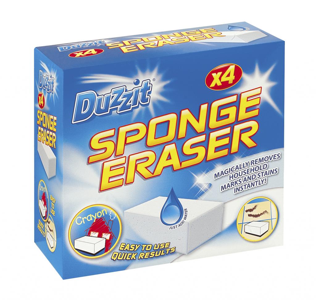 Duzzit Sponge Eraser - 4 Pack