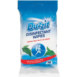 Duzzit Disinfectant Wipes - 50 Pack