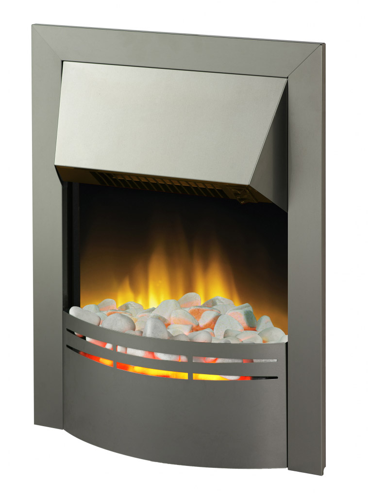 Dimplex Dakota Inset Steel Fire - 2000w