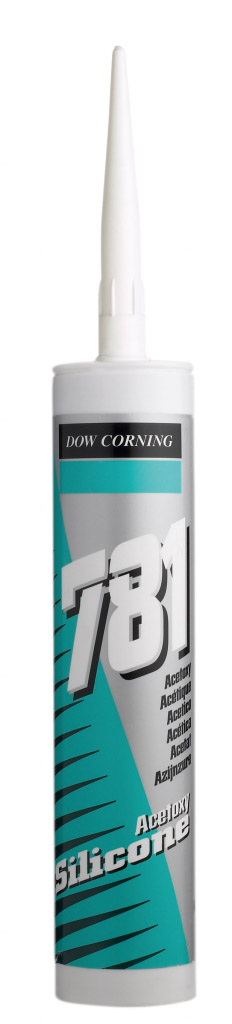 Dow Corning 781 Acetoxy Silicone 310ml - White