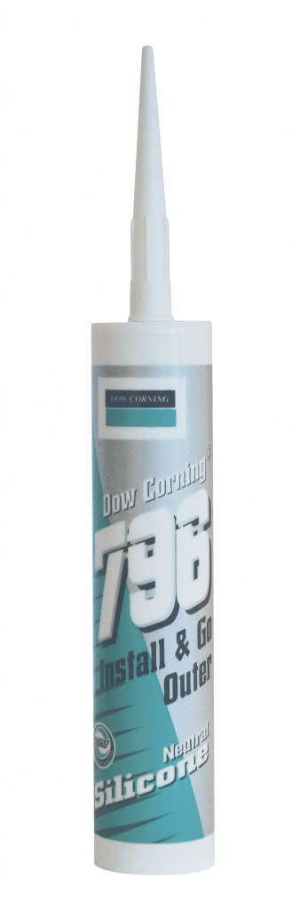 Dow Corning 796 PVC Silicone 310ml - Golden Oak