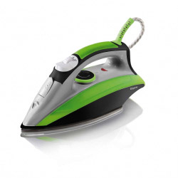 Elgento Steam Iron Green/Black
