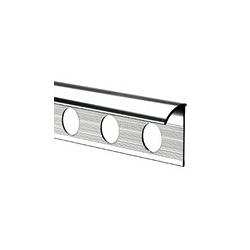 Tile Rite Tile Trim - 2.4m x 8mm Chrome