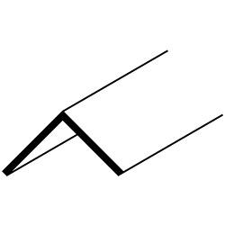 Easyfix 19mm Angle - 12 x 2.44m - Black