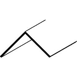 Easyfix 50mm Angle - 12 x 2.44m - White