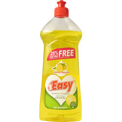 Easy Washing Up Liquid 550ml - Lemon Dazzle