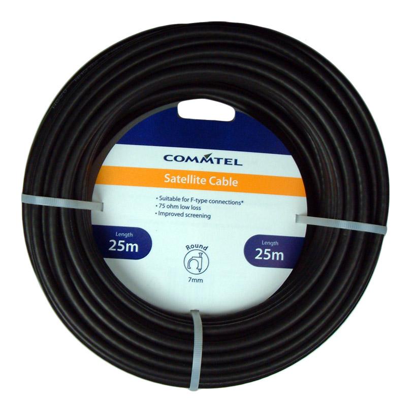 Commtel Satellite Cable 25m