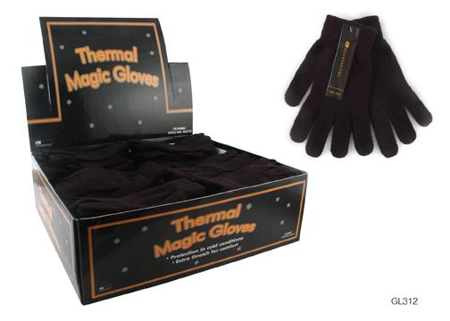 RJM Mens Black Magic Gloves