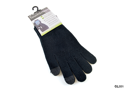 RJM Mens Phone Touch Gloves