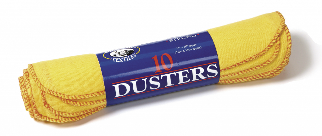 Globe Mill Textiles Dusters - 10 Pack