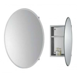 SP Loren Oval Mirrored Cabinet 450mm