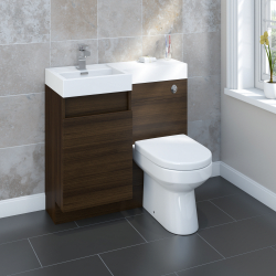 SP Gosford Walnut Vanity Unit 900mm