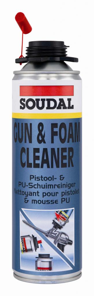 Soudal Gun & Foam Cleaner Colourless - 500ml aerosol can
