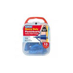 684138 Red 300 Pack Plasplugs Regular Duty Fixings