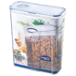 Lock & Lock Food Storage Container - Rectangular with Flip Top Lid - 4.3L (237 x 112 x 280mm)