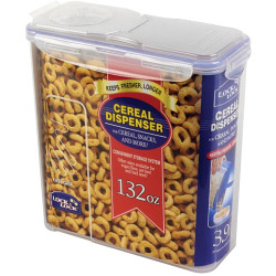 Lock & Lock Food Storage Container - Cereal Dispenser - 3.9L (245 x 111 x 247mm)