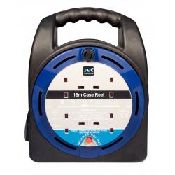 Masterplug 4 Gang Handbag Cable Reel