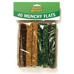 Munch & Crunch Munchy Flats - 32 Pack