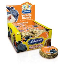 Johnsons Vet Harvest Munch for Rabbits, Guinea Pigs etc - 70g