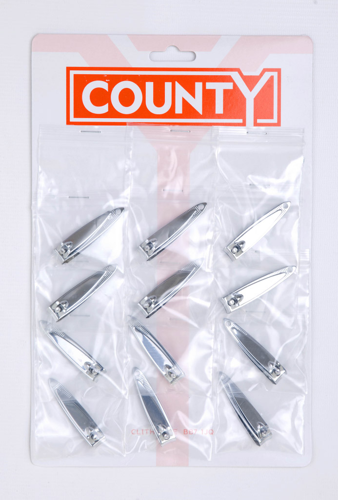 County Fingernail Clippers - Card 12