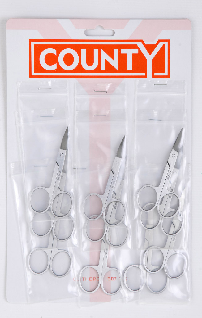 County Nail Scissors - Card 10