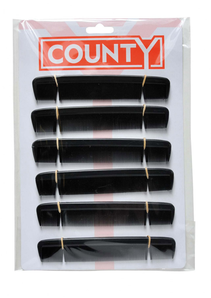 "County Gents Comb 6"" - Card 12"