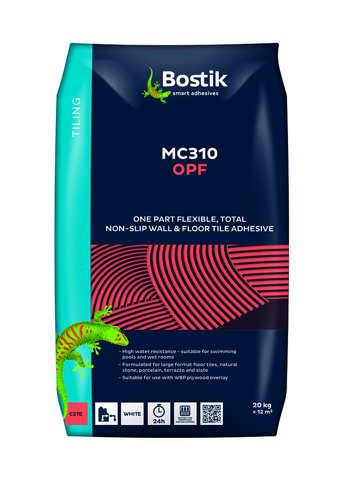 Bostik OPF White Flexible Tile Adhesive - 20kg