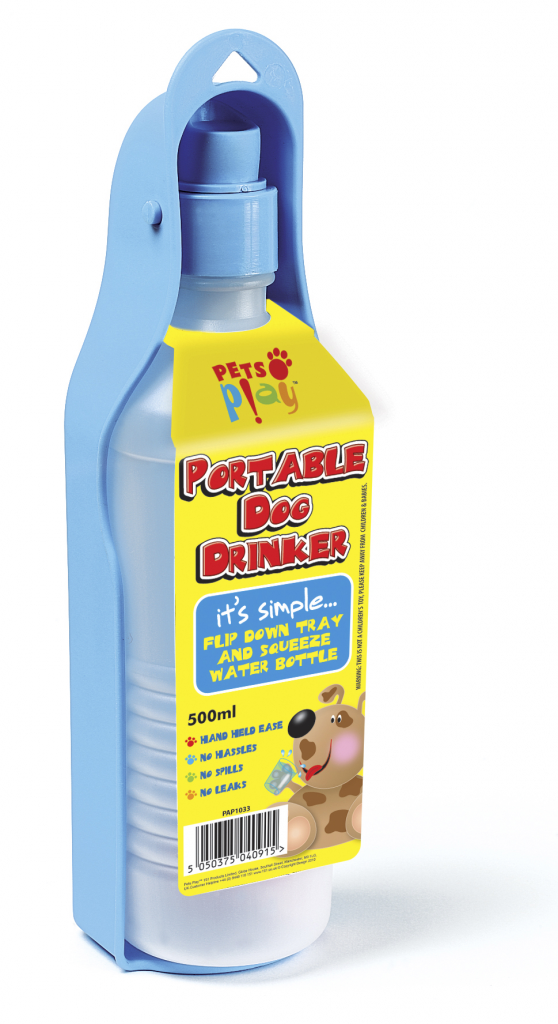 Pets at Play Portable Dog Drinker - 300ml