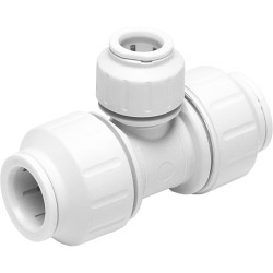 JG Speedfit Reducing Tee Connector - White - 22mm x 15mm x 22mm 5 Pack