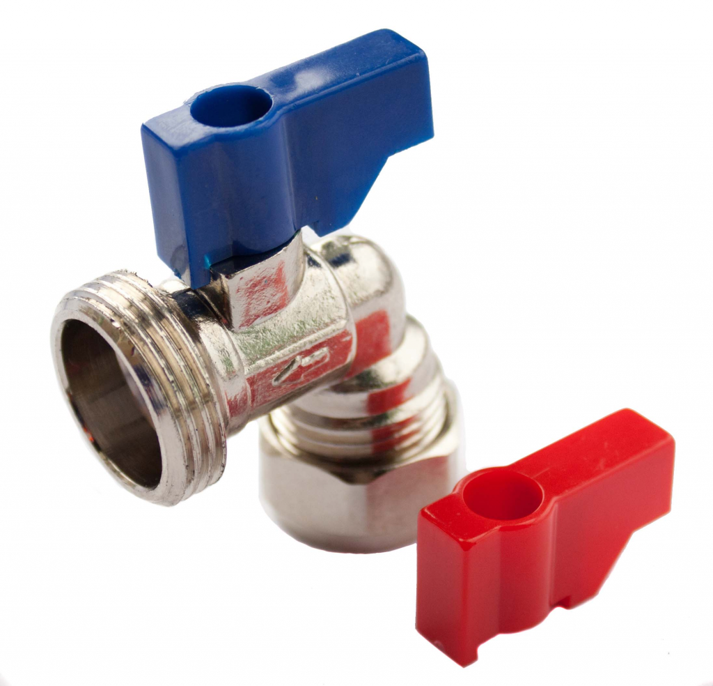 "Oracstar Angled Valve (Hot/Cold) - 15mm x 3/4"" BSP"