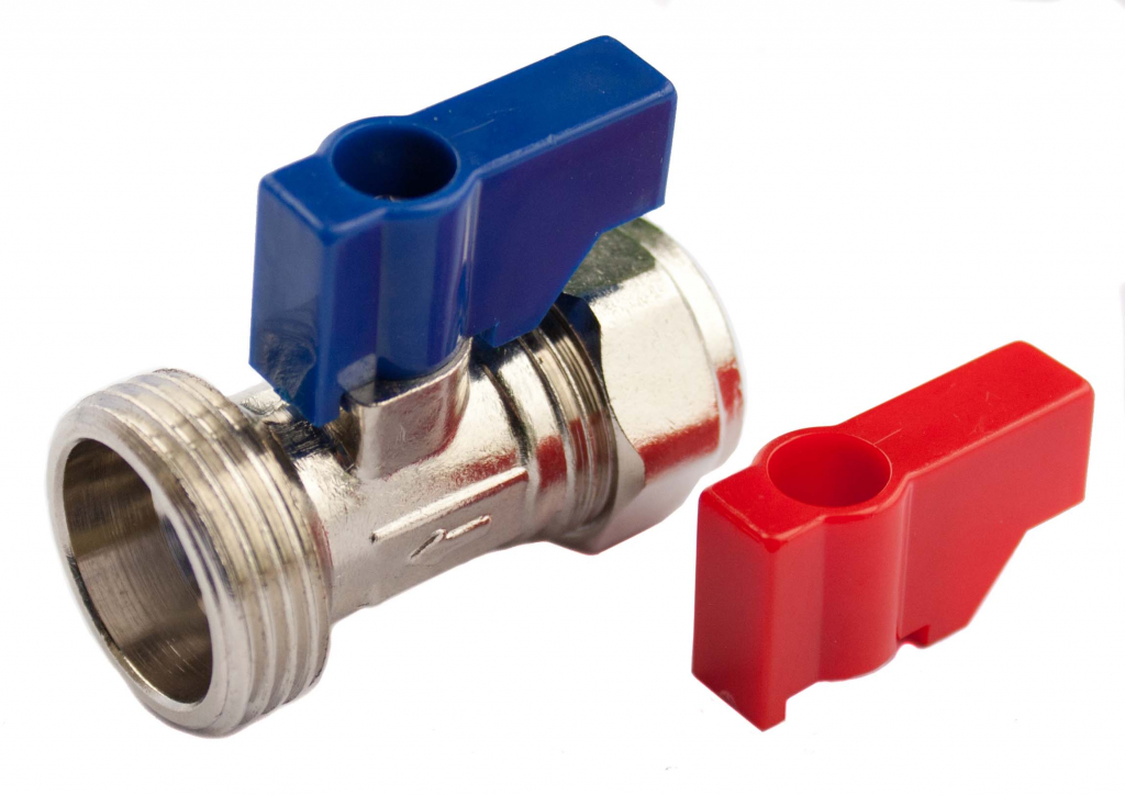 "Oracstar Straight Valve (Hot/Cold) - 15mm x 3/4"" BSP"