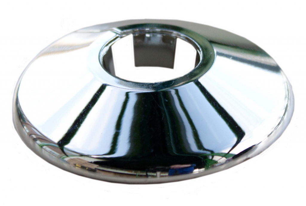 Oracstar Pipe Collar - 15mm - Chrome (Pack 5)