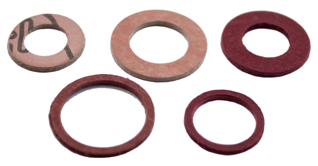 Oracstar Assorted Fibre Washers - Pack 6