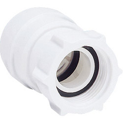 JG Speedfit Female Coupler Tap Connector - White - 15mm x 3/4 bsp Pack 5