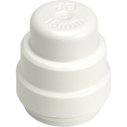 JG Speedfit End Stop - White - 15mm Pack 2
