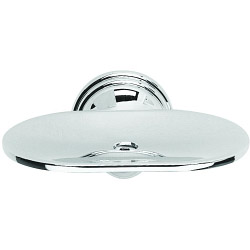 Croydex Westminster Soap Dish - 57 x 120 x 105mm