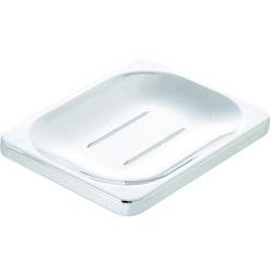 Croydex Sutton Soap Dish - 24 x 100 x 80mm