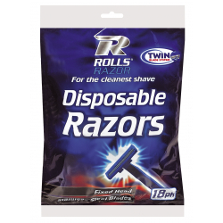 Rolls Razor Twin Blade Disposable Razors