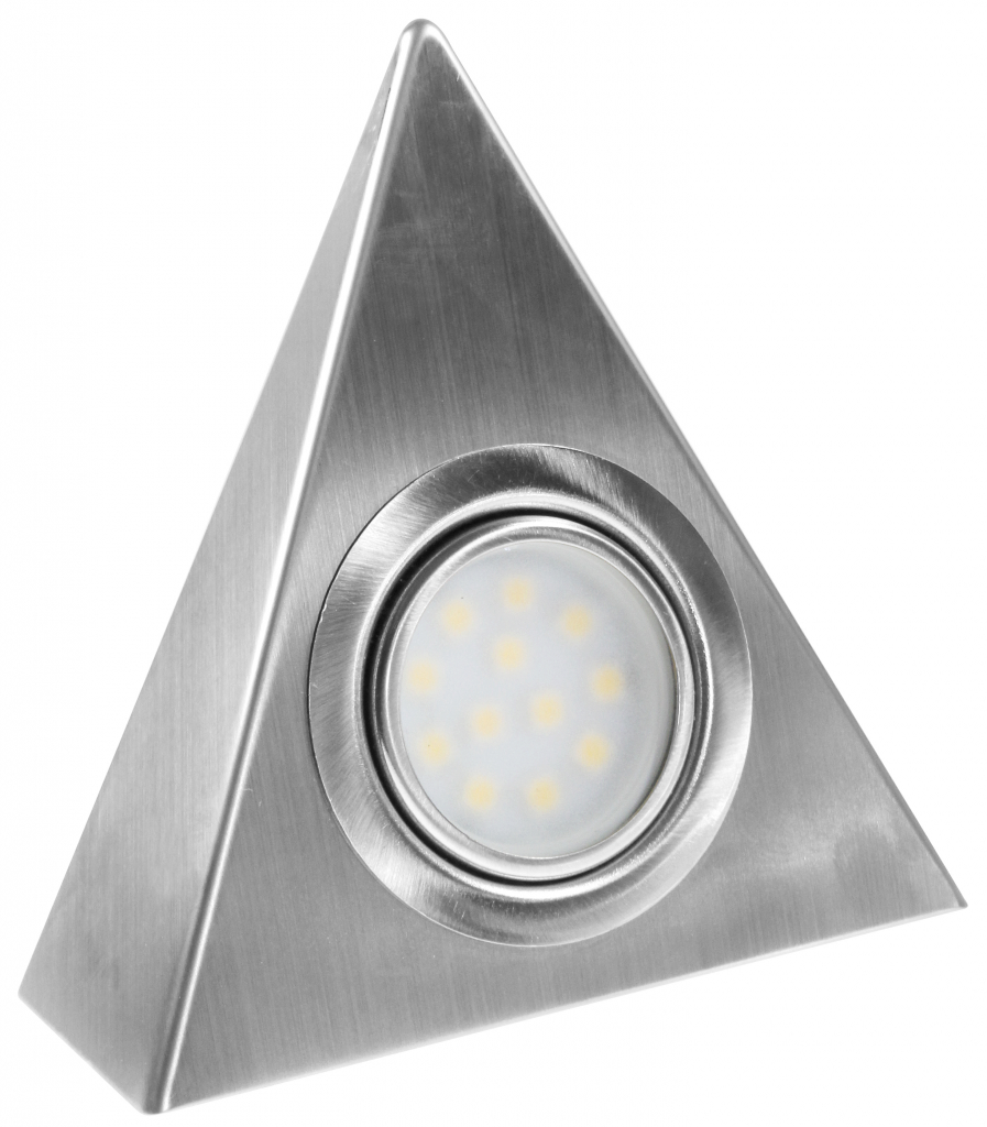 Powermaster LED Cabinet Light - Triangle Triple Pack