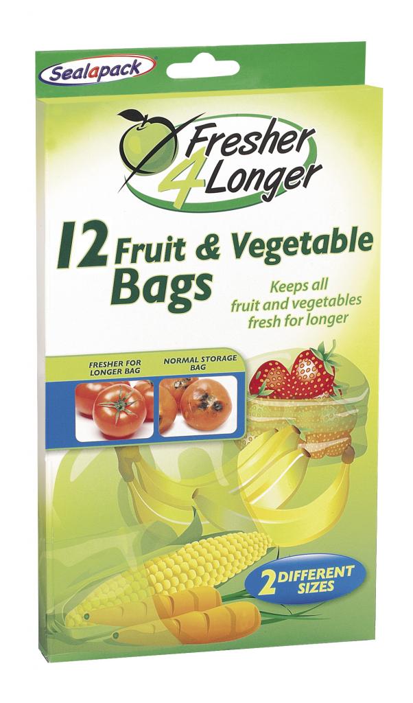 Sealapack Fruit & Vegetable Bag - 12 Pack