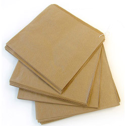 Brown Fruit Bag - Strung 10 x 10 - Pack 1000