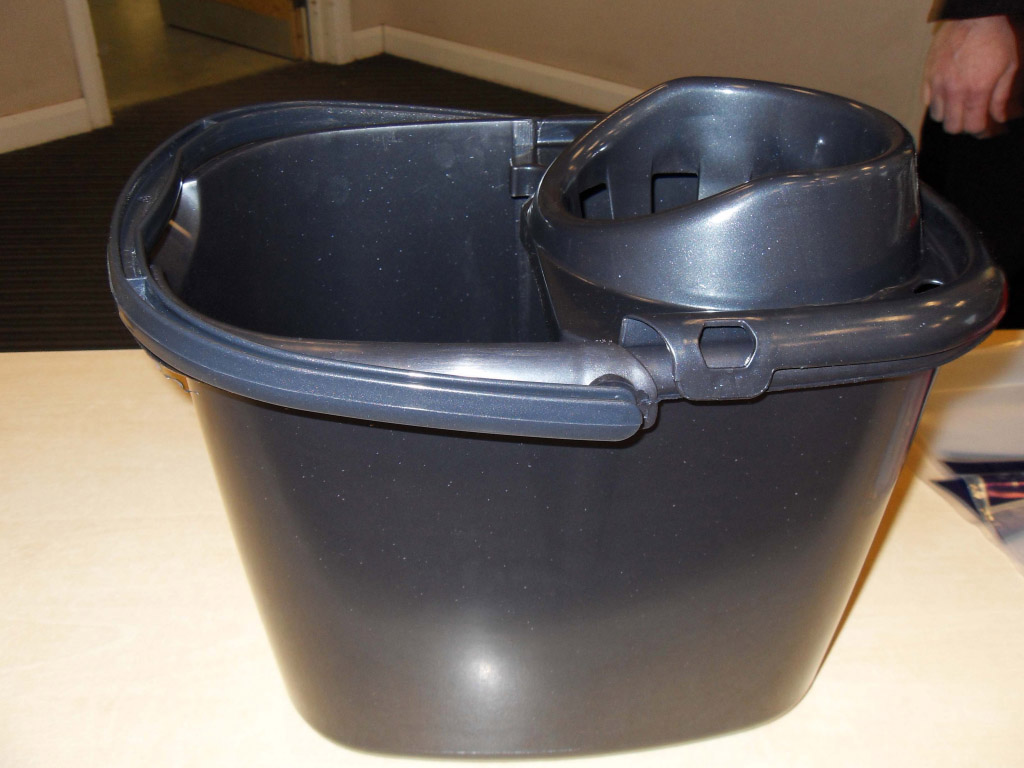 TML Mop Bucket - 15L Graphite