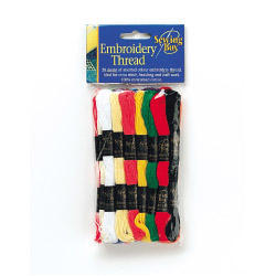 Sewing Box Embroidery Thread - Pack 12