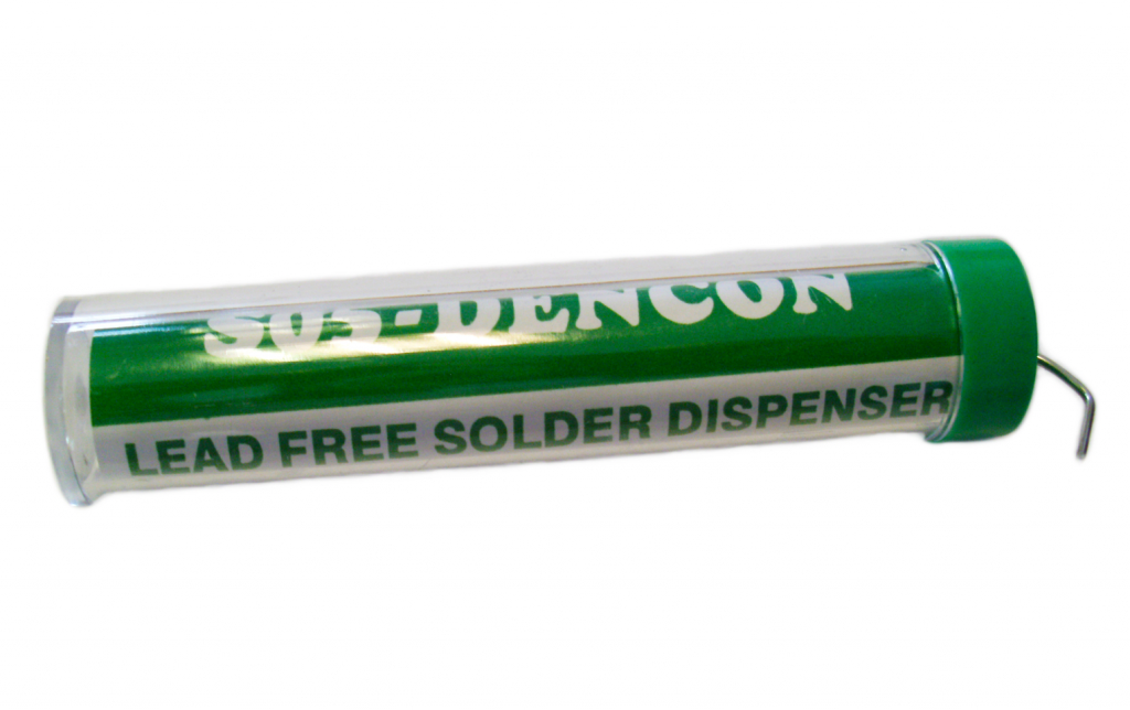 Dencon Solder Dispenser 40/60 Alloy, Lead Free - Card of 12