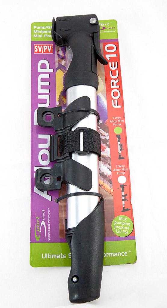 Sport Direct Mini Pump - With Dual Valve Alloy