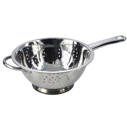 Pendeford Stainless Steel Collection Polished Deep Long Handled Colander